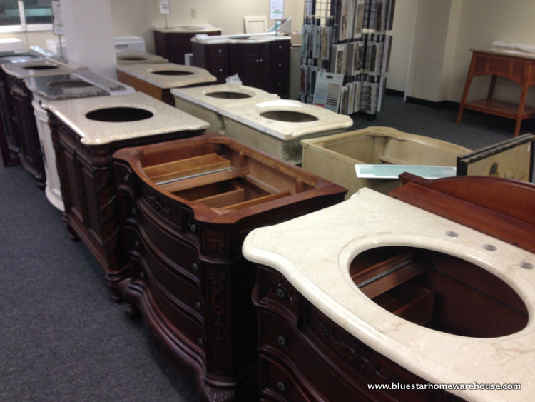 Bathroom Vanities Closeout bathroom vanities - bluestar home warehouse - kitchen & bath