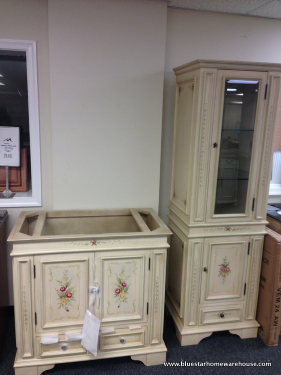 Bathroom Vanity Hutch bathroom vanities - bluestar home warehouse - kitchen & bath