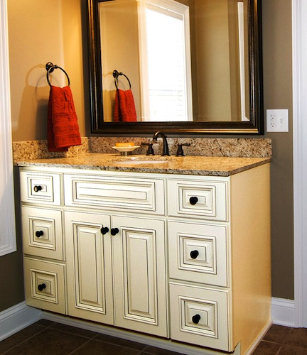 wooden bathroom sink cabinets. Bathroom Vanities In Baltimore  MD BlueStar Home Warehouse Kitchen Bath Cabinets Wood Flooring